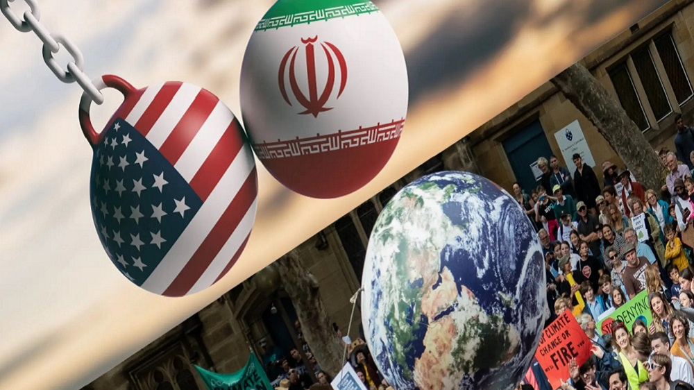 The start of 2020 was marred by the escalating tensions between the US and Iran (Getty) The start of 2020 was marred by the escalating tensions between the US and Iran (Getty)