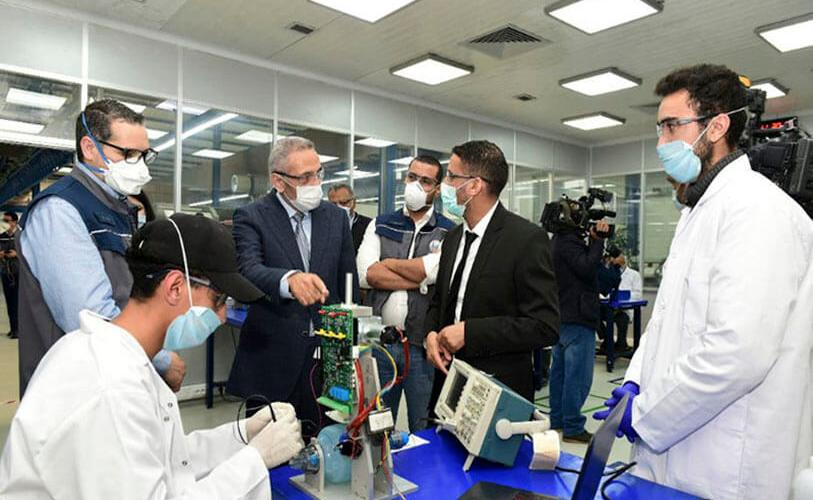 The factory of the Society for the Study and Realization of Precision Mechanics (SERMP) was chosen to manufacture 100% Moroccan artificial respirators for coronavirus patients (MAP)