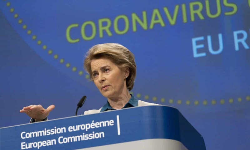 European Commission president Ursula von der Leyen apologized to Italy for letting it down (Getty)