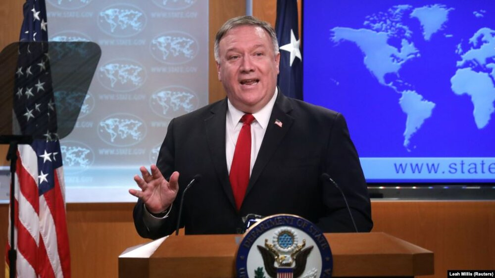 U.S. Secretary of State Pompeo urges UN to renew Iran arms embargo (Getty)