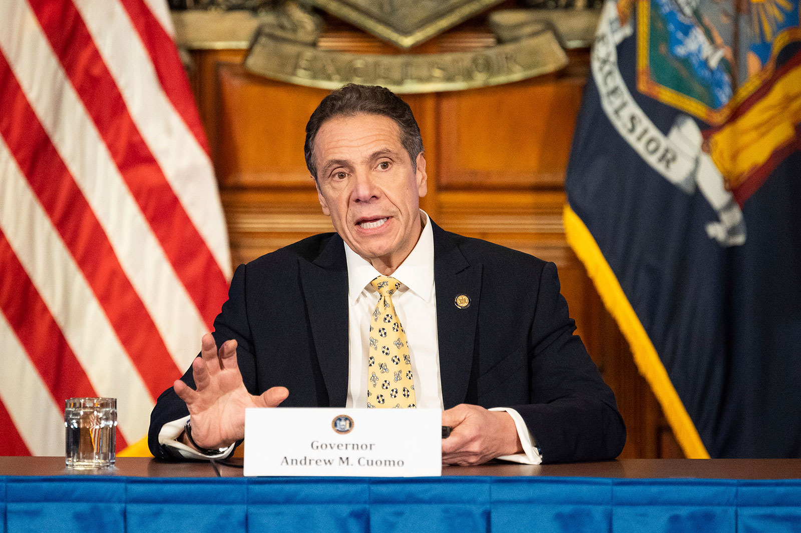 New York Governor Andrew Cuomo [AP]